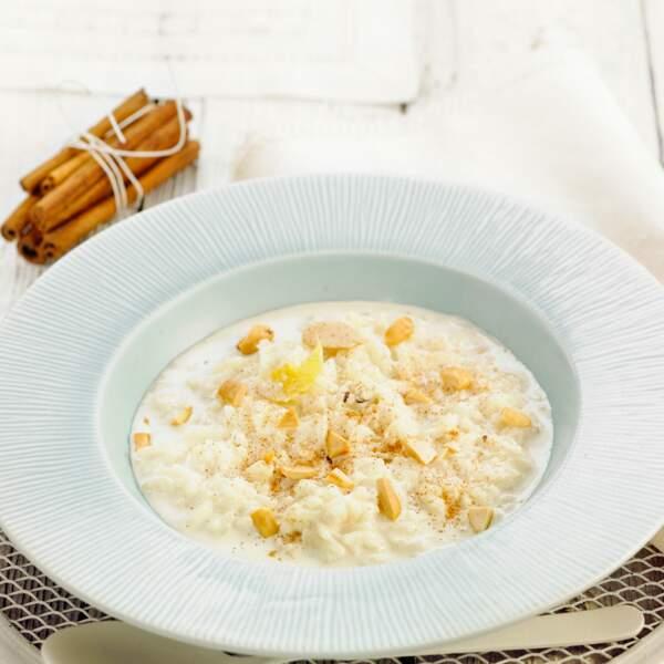 Riz au lait de soja