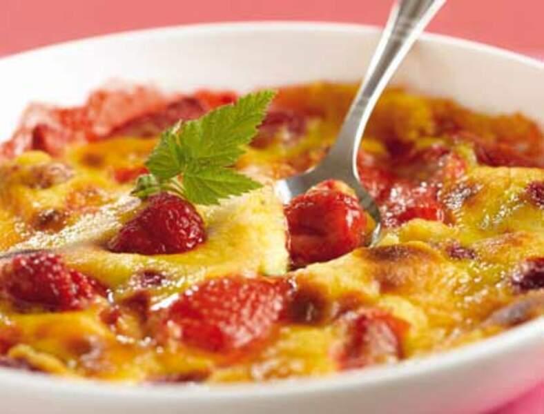 Gratin de fruits rouges et marsala