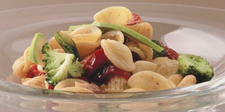 Orecchiette aux brocolis et tomates cerises