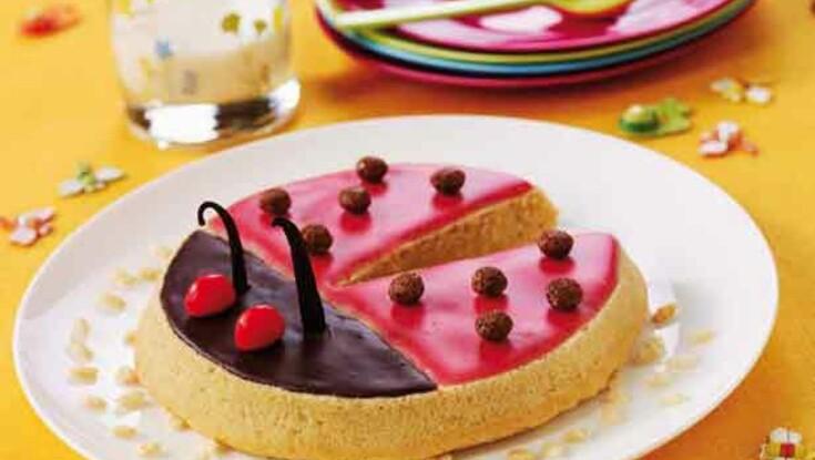 Le gâteau coccinelle