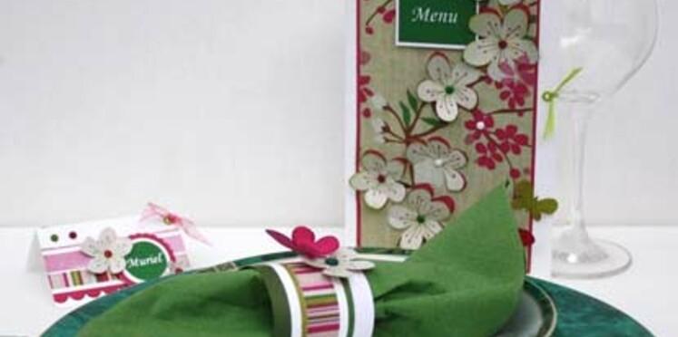 Créez une table à l'esprit japonisant