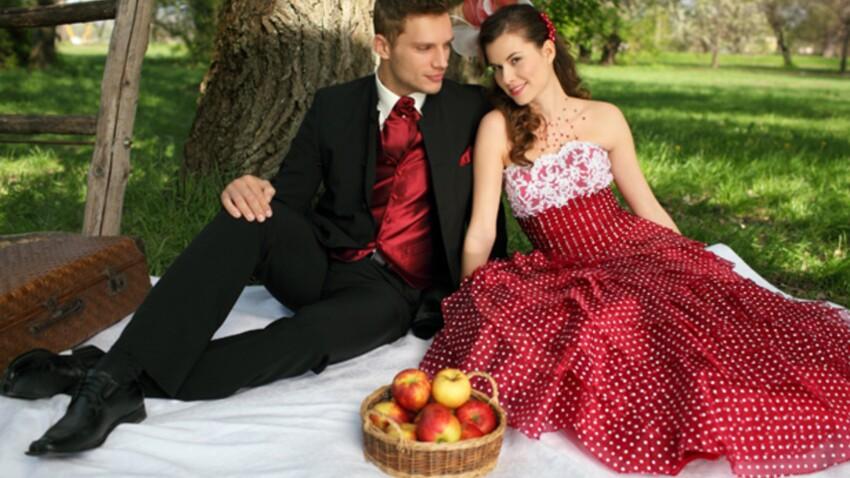 Collections 2011: les plus belles robes de mariée de couleur
