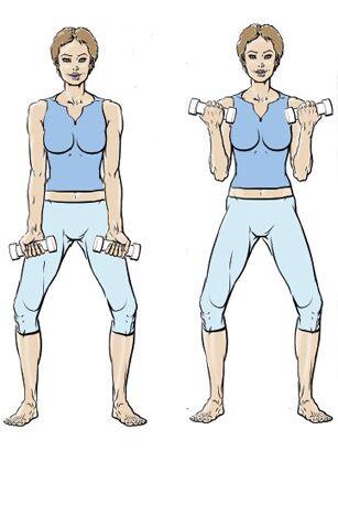 5 exercices pour muscler ses bras femme actuelle le mag. Black Bedroom Furniture Sets. Home Design Ideas