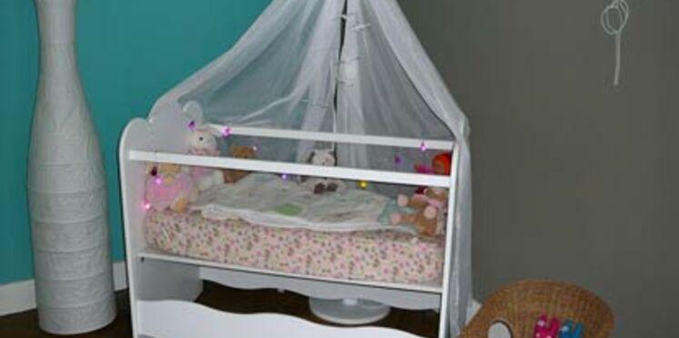Une chambre de bébé relookée par une coach déco