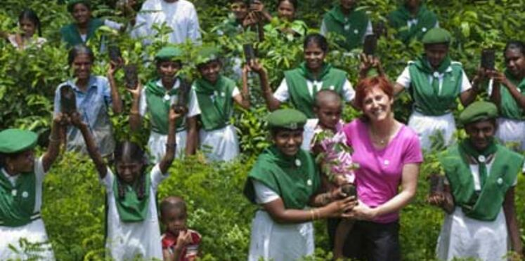 """""""Plantons pour la planète"""" : sur le terrain, en Inde"""