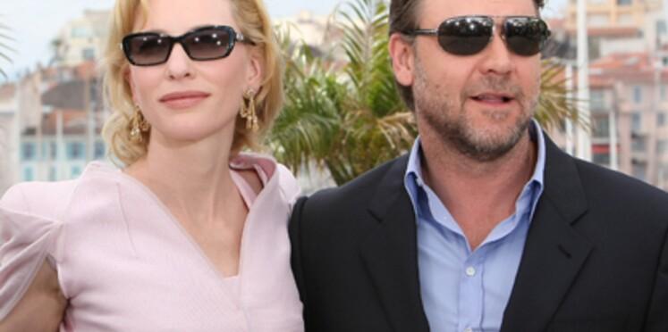 Festival de Cannes : Cate Blanchett et Russell Crowe ouvrent le bal