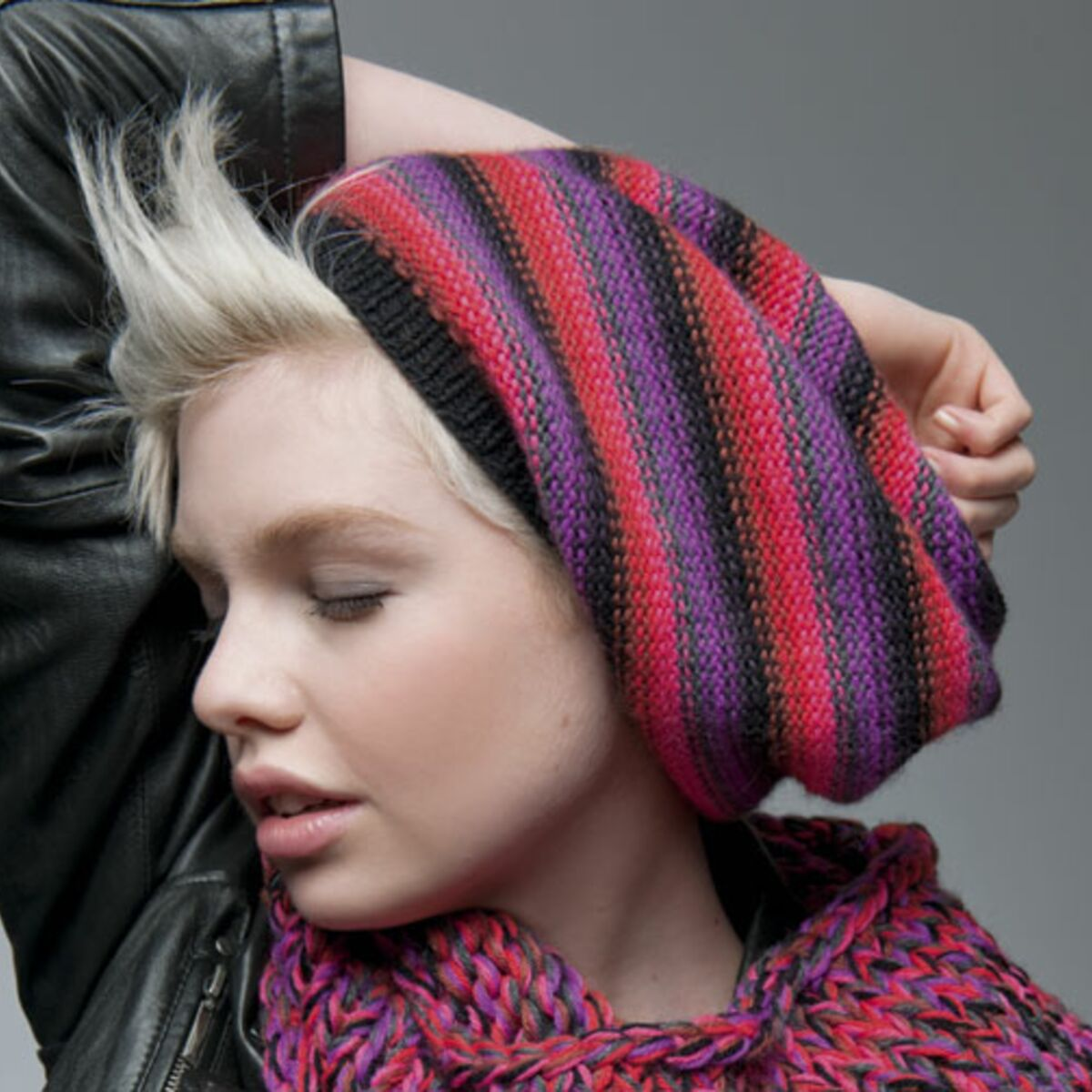 beret femme tricot facile