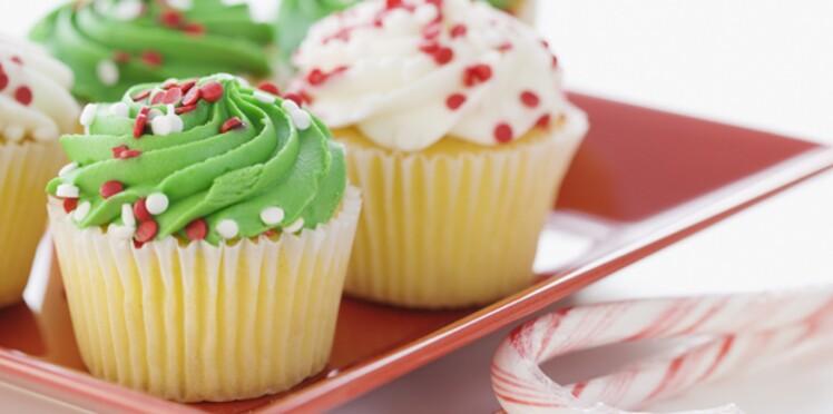 Des cupcakes pour les fêtes!