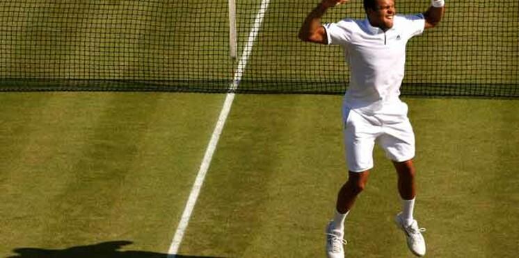 Wimbledon : Jo Wilfried Tsonga sort Roger Federer