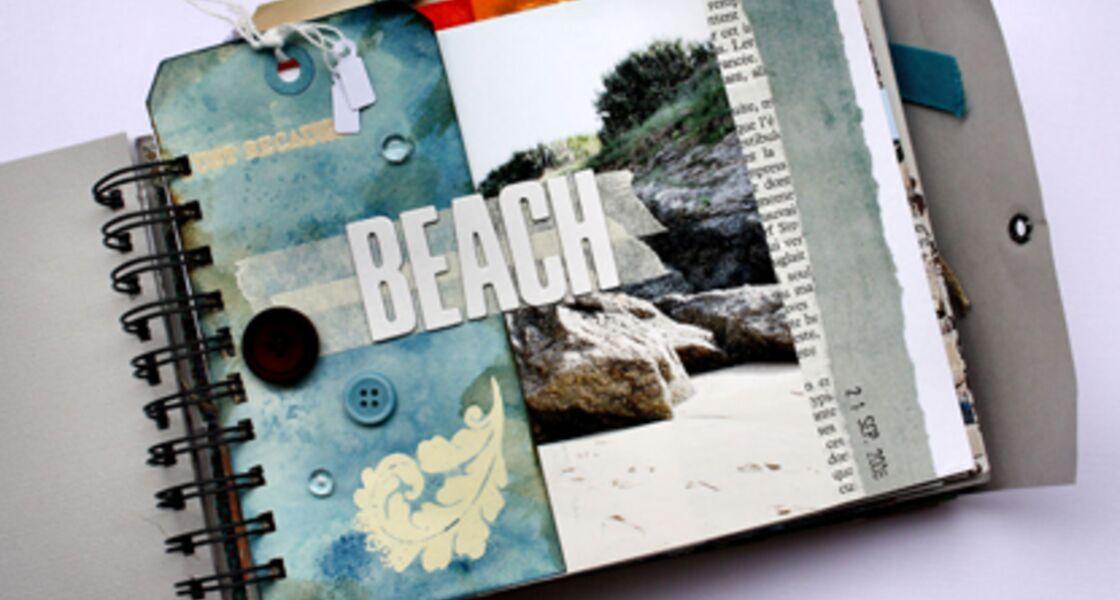 scrapbooking r aliser un album photo personnalis femme actuelle le mag. Black Bedroom Furniture Sets. Home Design Ideas