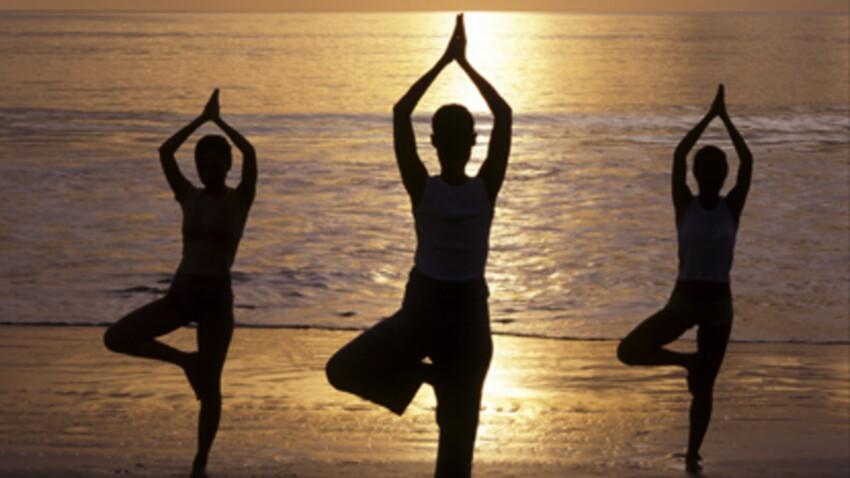 Zen et musclée grâce au yoga
