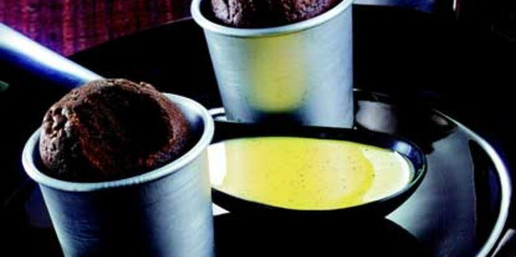 Petits gâteaux moelleux au chocolat Weight Watchers