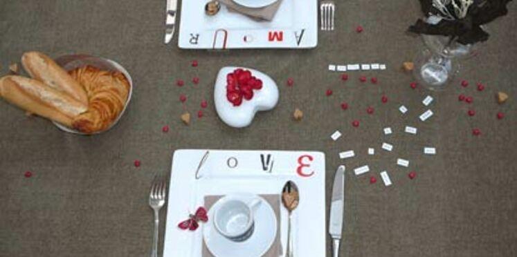 Un petit-déjeuner de Saint Valentin en vidéo