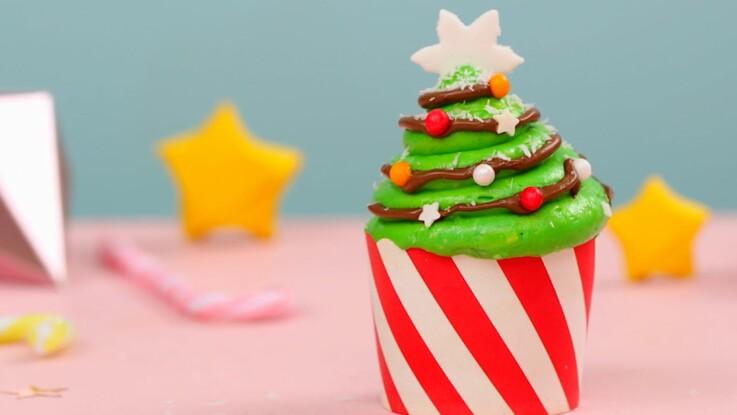 Cupcake de Noël : recette et décoration originales