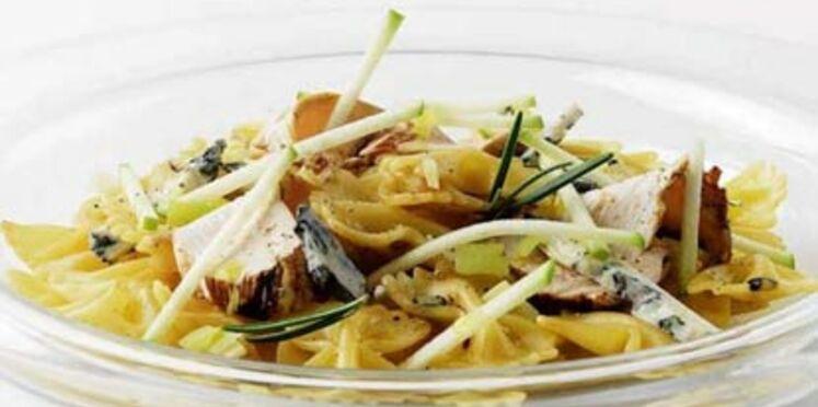 Salade de Farfalle poulet au balsamique
