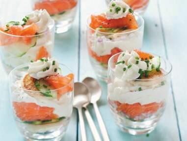 Nos meilleures recettes de verrines de saumon pour l'entrée ou l'apéro