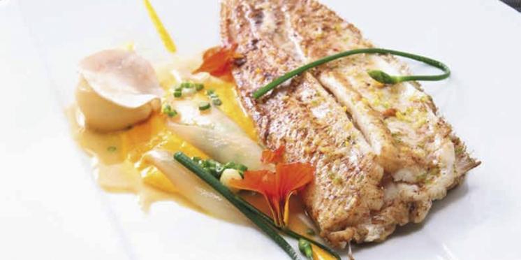 Sole sur arêtes et légumes d'Asie par Pierre-Sang (Top Chef)