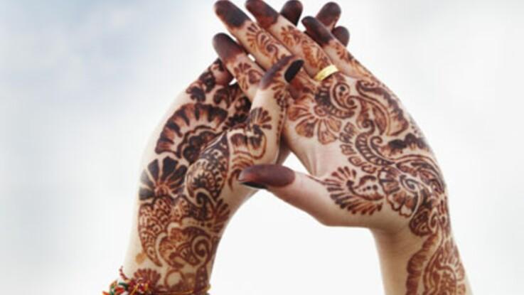 L'art du henné pour le mariage