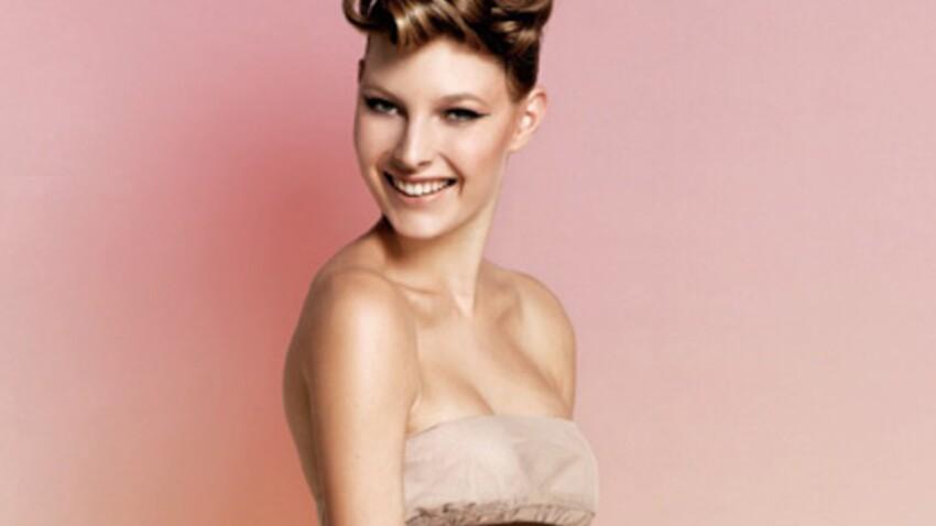 Idée coiffure : un chignon moderne et glamour