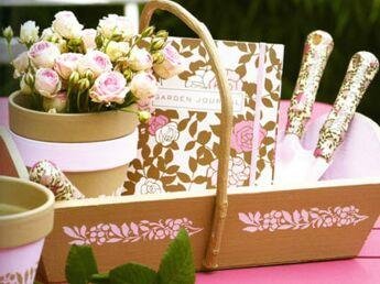 Fabriquer un petit panier de jardinage