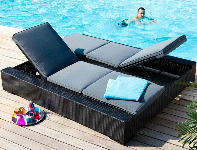 du mobilier pour le bord de la piscine femme actuelle le mag. Black Bedroom Furniture Sets. Home Design Ideas