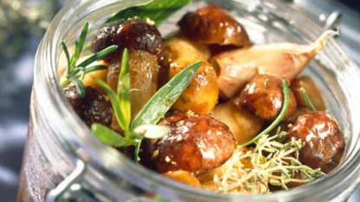 La recette des cèpes poêlés au parmesan et herbes fraîches