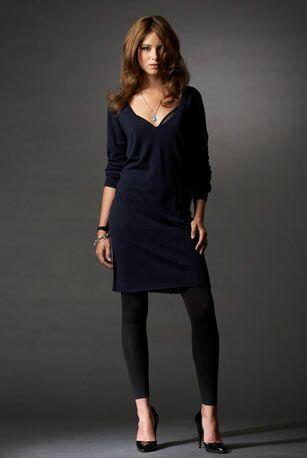 Pull robe femme ronde
