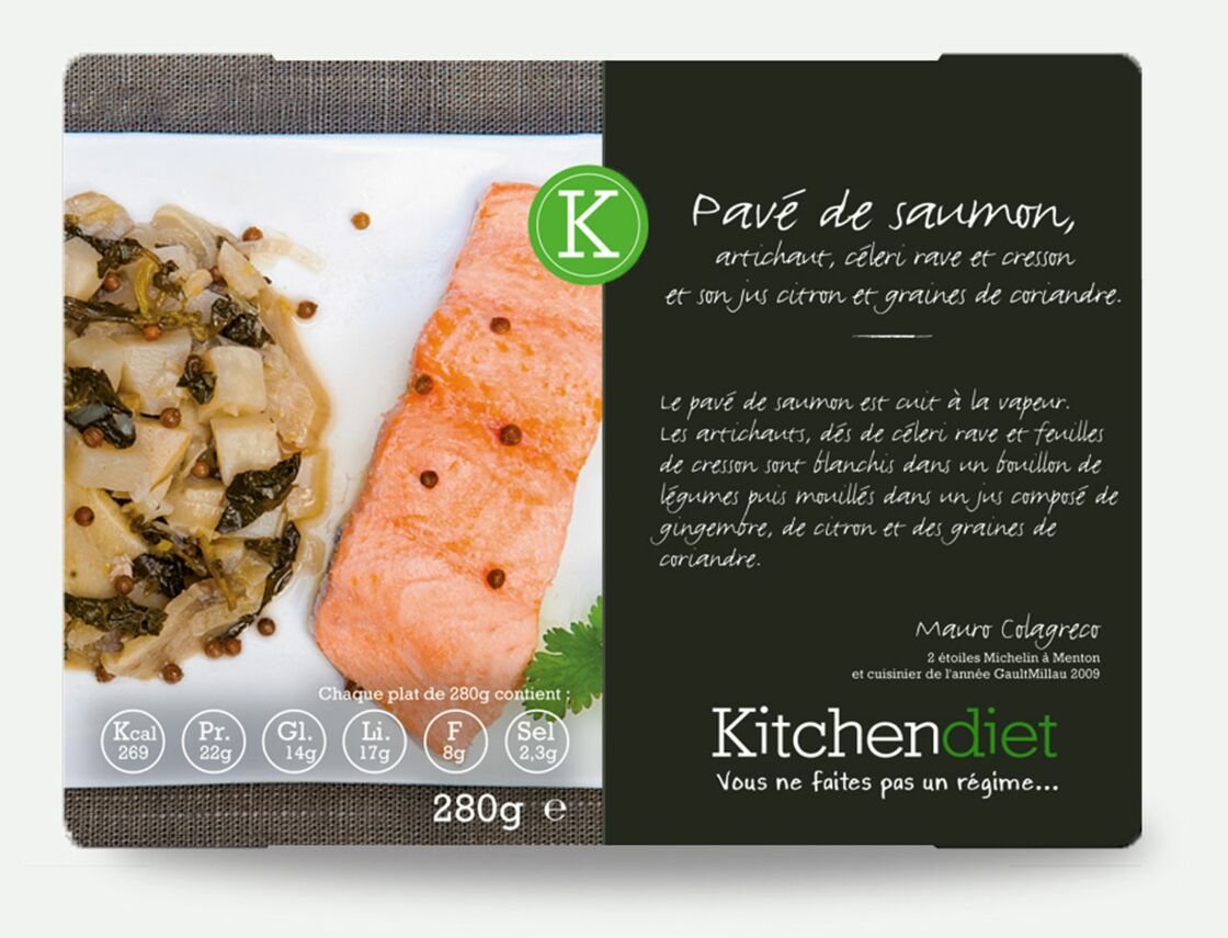 Plats minceur livr s domicile notre banc d 39 essai kitchendiet le plus gourmet femme - Plats cuisines livres a domicile ...
