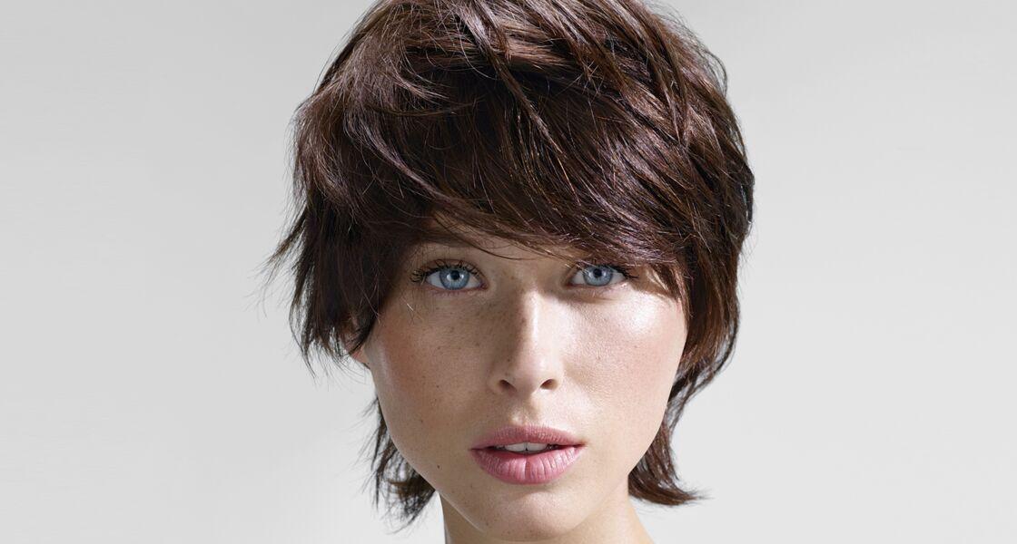 Couleurs de cheveux pour les yeux marrons