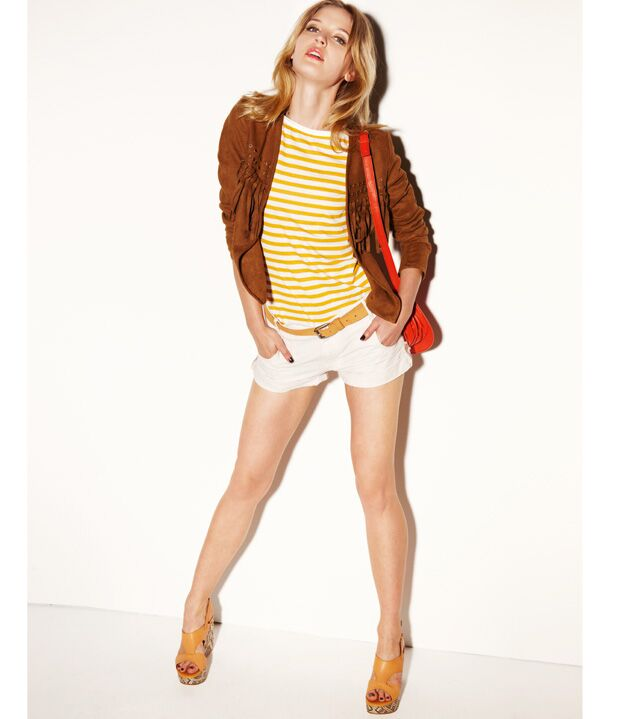 cb23b4ed829b6 5 conseils pour bien porter le short - Les bonnes chaussures : Femme ...
