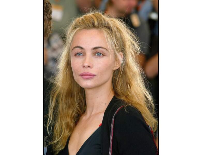 Emmanuelle Béart en 2003 : elle a 40 ans