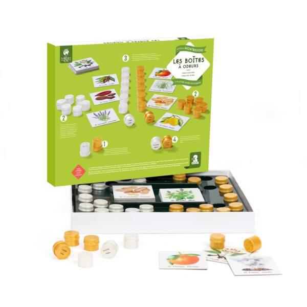Montessori : les boîtes à odeurs - Nature et Découvertes