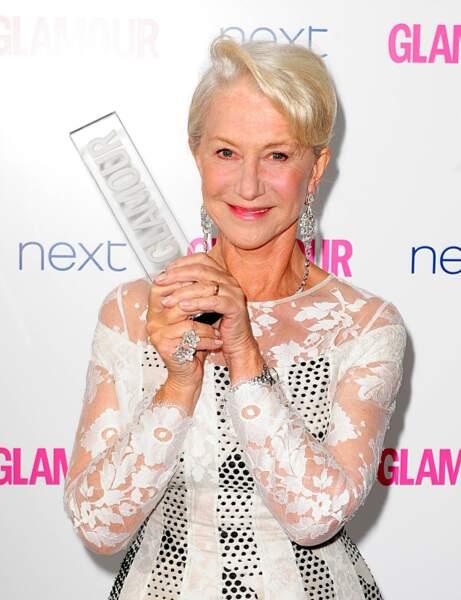 La coupe pixie d'Helen Mirren
