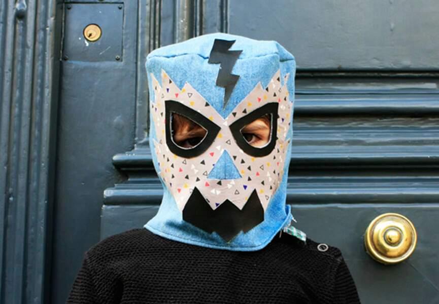 Un masque de catcheur