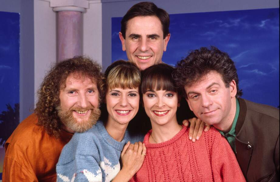 Les animateurs emblématiques du Club Dorothée en 1989