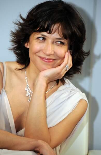 Sophie Marceau à Tokyo pour les 230 ans de Chaumet en 2010.