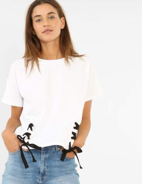 T-shirt blanc : original