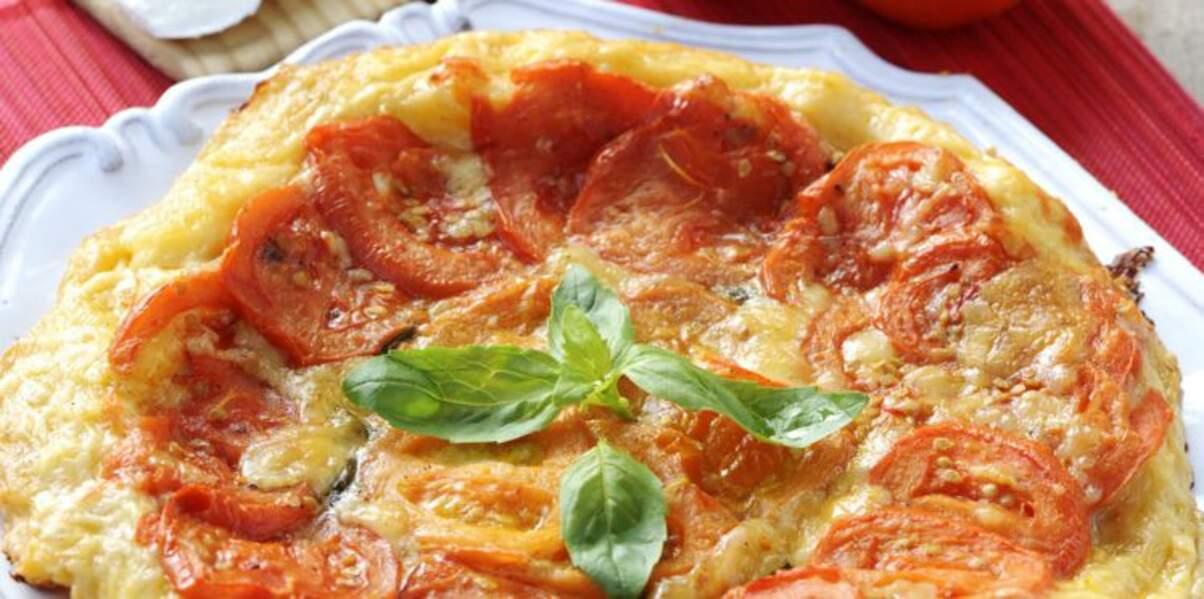 Tarte tomate mozza facile
