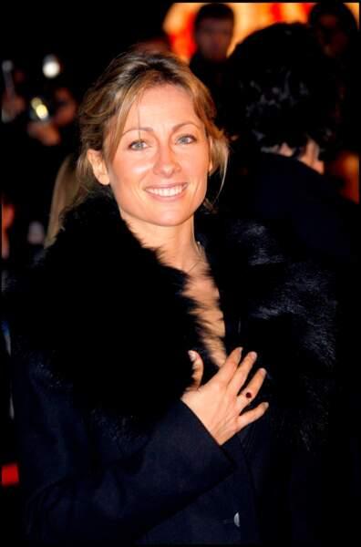 Anne-Sophie Lapix à la cérémonie des NRJ Awards au Palais des Festival de Cannes en 2007.