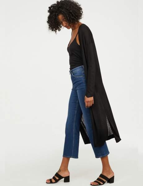 Nouveautés H&M : le gilet extra-long