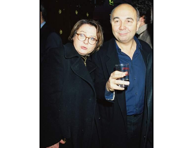 """1999 : elle assiste à l'Avant-Première de """"La bûche"""" avec Gérard Jugnot"""