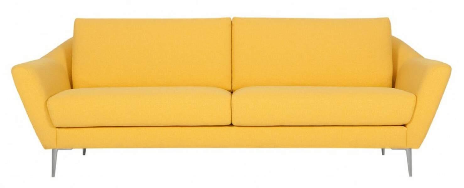 Canapé couleur soleil