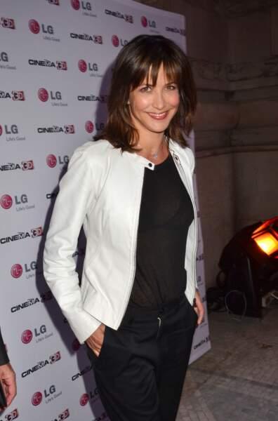 Sophie Marceau lors d'une soirée au Grand Palais en 2011.