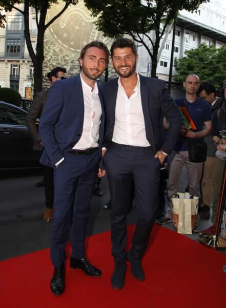 Christophe Beaugrand et Ghislain Gerin à Paris, le 3 juin 2019
