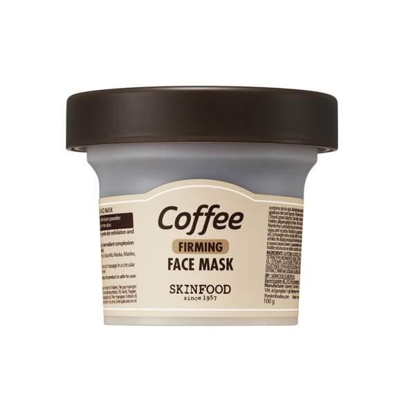 Masque Raffermissant au Café, Skinfood, pot 100 g, prix indicatif : 14,99 €
