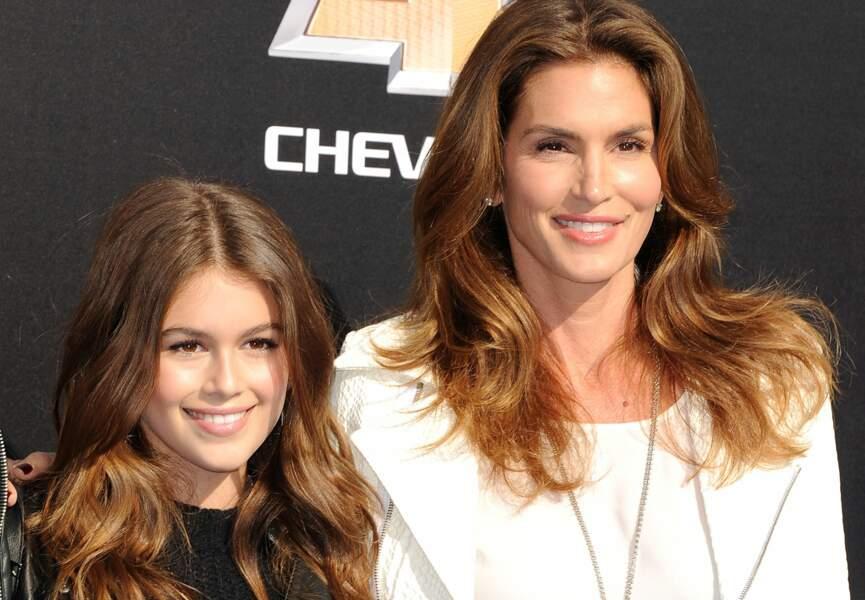 Cindy Crawford et sa fille Kaia Gerber