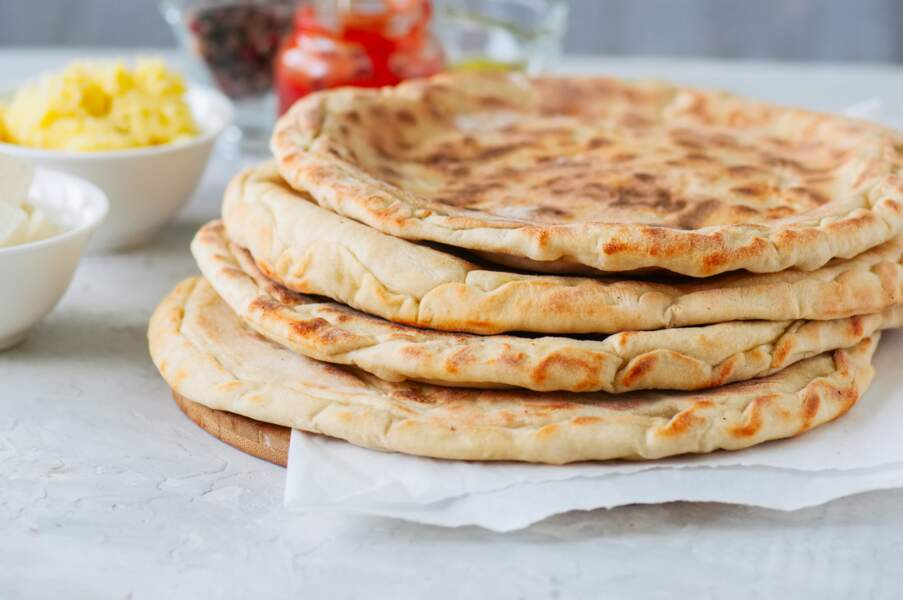Le pain naan