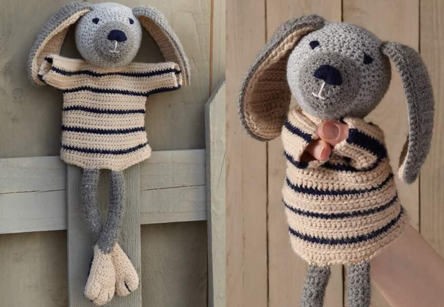 Crochet : lapin Amigurumi - kawaii amigurumi bunny -