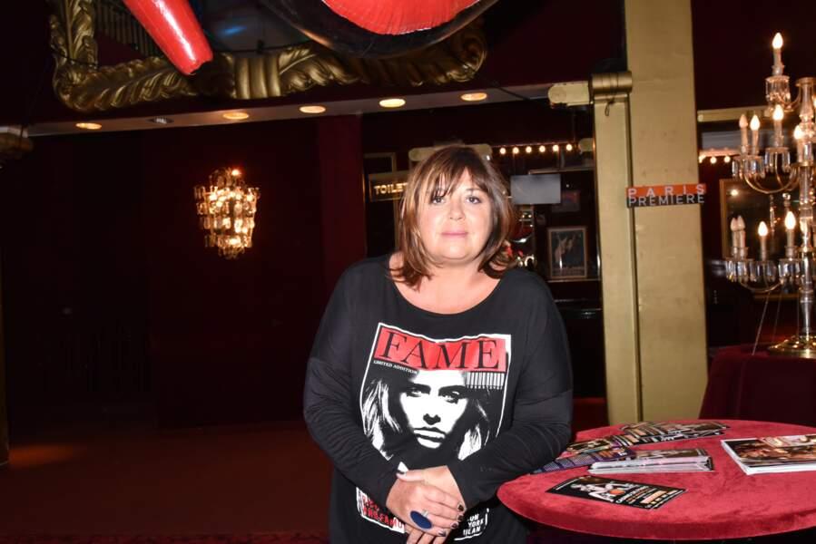 """Michèle Bernier au Casino de Paris pour le spectacle """"The Hole"""" en 2016."""
