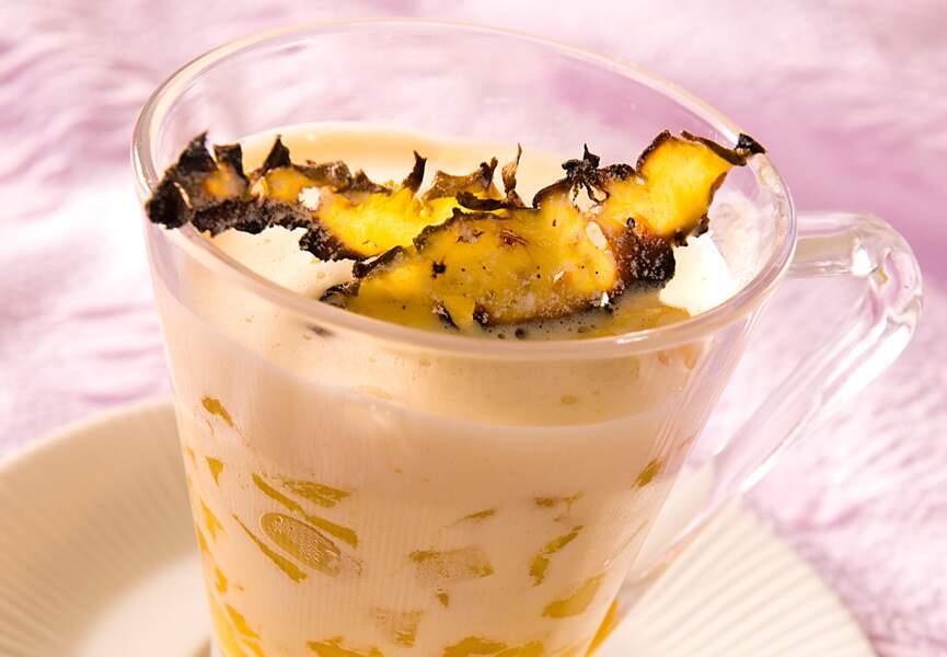 Ananas au sabayon